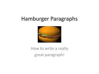 Paragraphs and Topic Sentences: Writing Guides: Writing